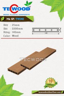 sàn gỗ ngoài trời tw140 wood