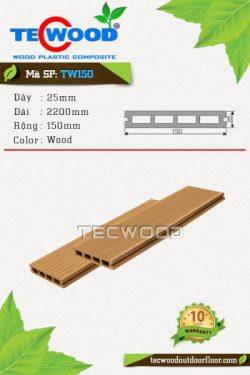 sàn gỗ ngoài trời tw150 wood