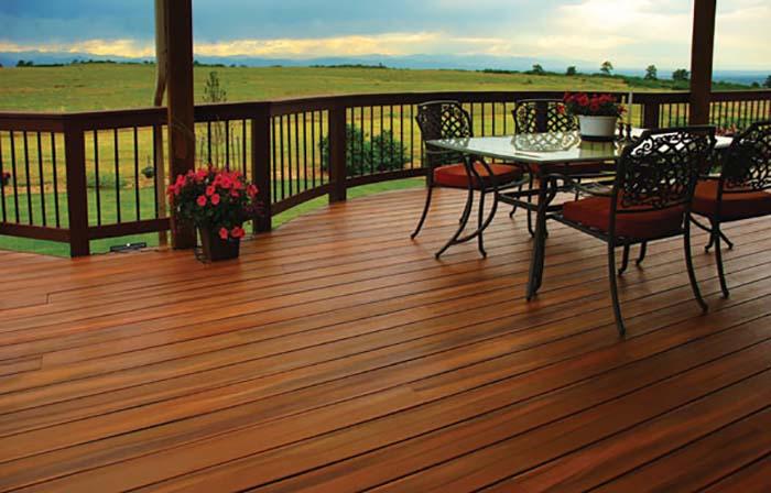quy cách sàn gỗ lót sân thượng