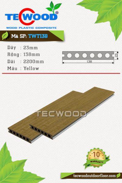 san-go-ngoai-troi-tecwood-twt138-yellow