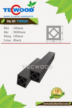 tru-cot-go-nhua-tecwood-twe120-black