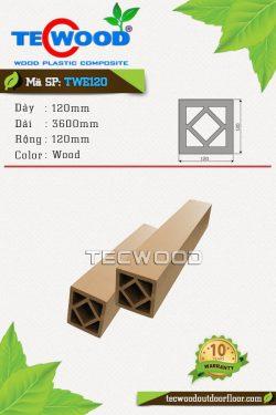 tru-cot-go-nhua-tecwood-twe120-wood